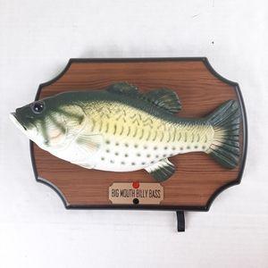 Vtg.1999 Gemmy Big Mouth BIlly Bass Singing Fish